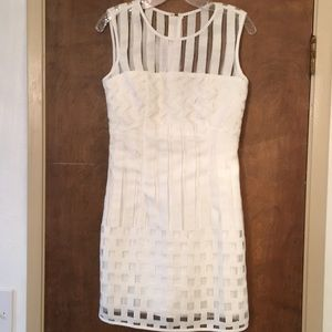 Unique white Milly dress